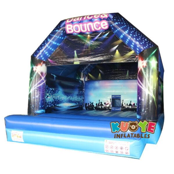 BH019 Disco Bouncy Castle