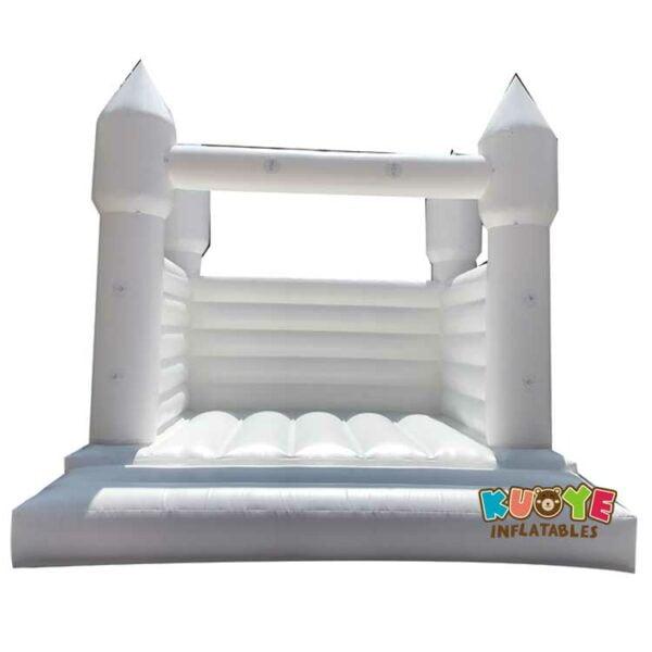 BH081 White Bounce House