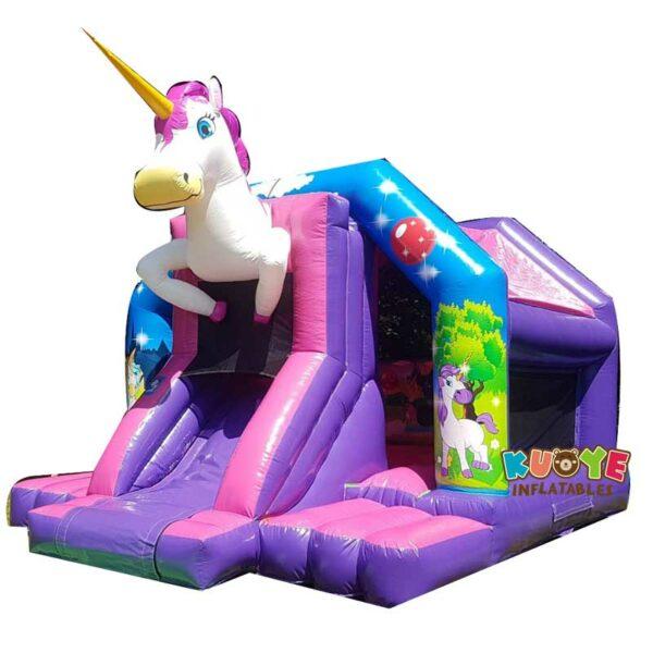 CB022 Unicorn Disco Bouncy Castle