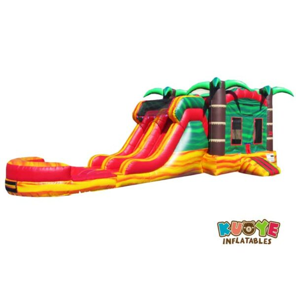 CB017 Palm Trees Fiesta Water Combo with Removable Pool