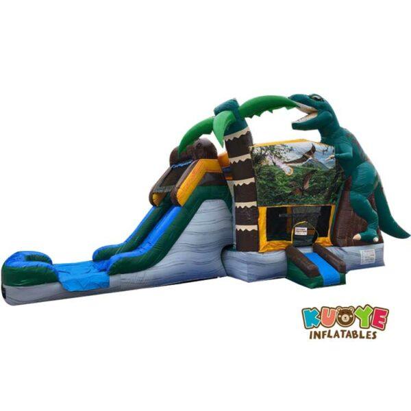 CB089 Dinosaur Combo Bounce House