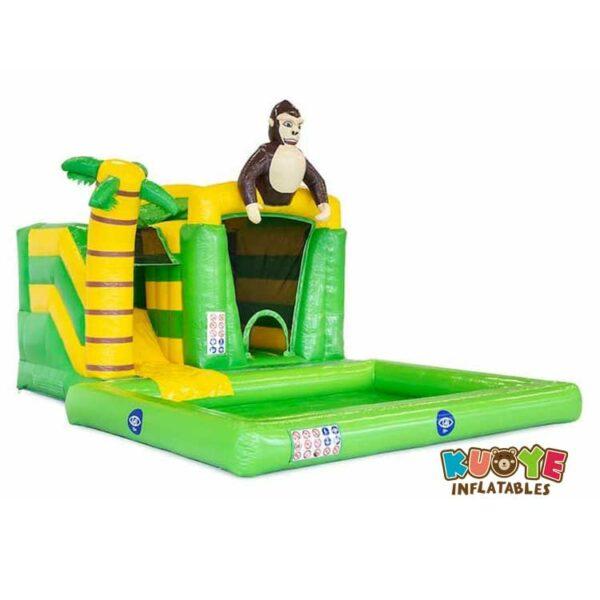 CB097 Mini Splash Bounce Jungle Bounce House