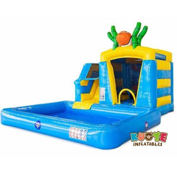 CB098 Mini Splash Bounce Seaworld Bounce House