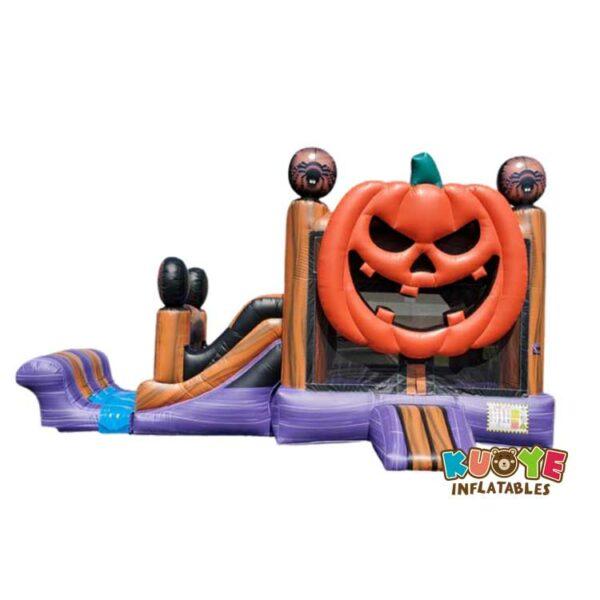 CB0103  Halloween Lantern Combo Bounce House