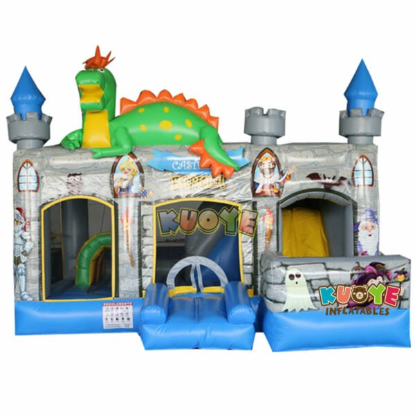 CB1802 Dinosaur Jumping Fun Castle with Slide