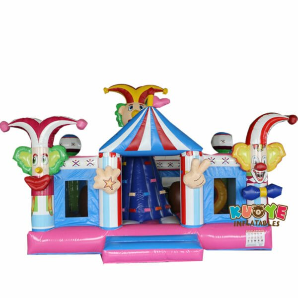 CB1807 Circus Party Clown Bouncy Castle