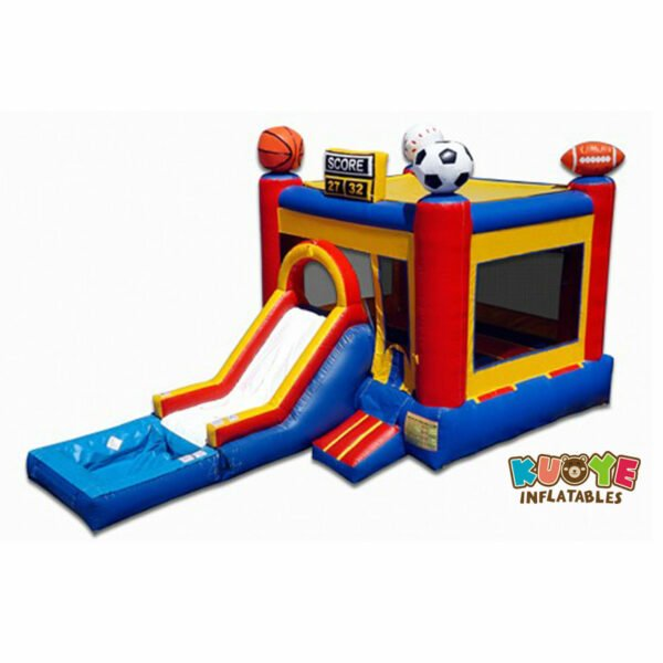 CB1810 Sports Inflatable Bouncer Slide