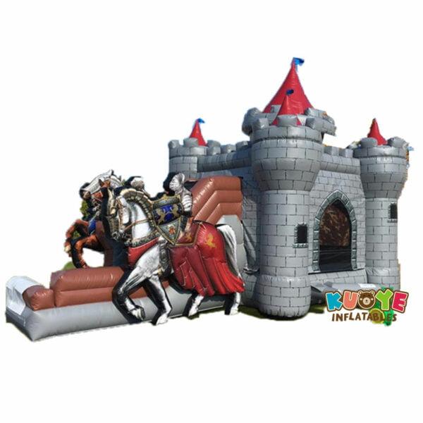 CB1817 Princess Carriage Inflatable Combo