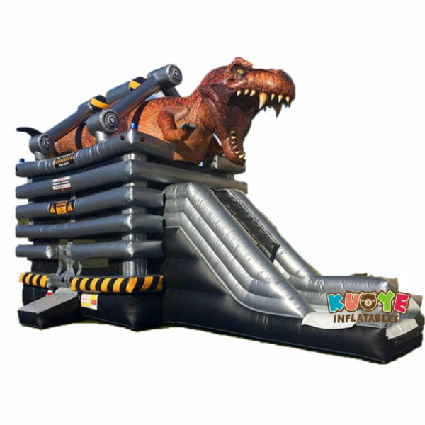 CB1819 T-Rex Dinosaur Bounce House Combo