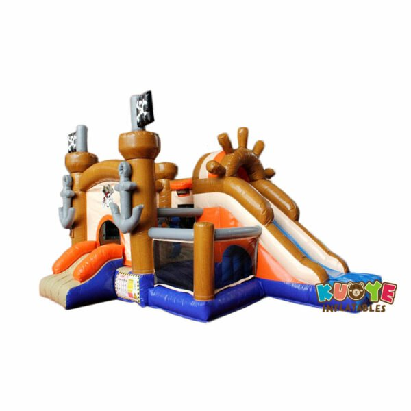 CB1822 Pirate Maboule Bouncy Castle with Slide