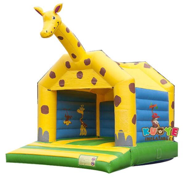 BH027 Giraffe Inflatable Moonwalk