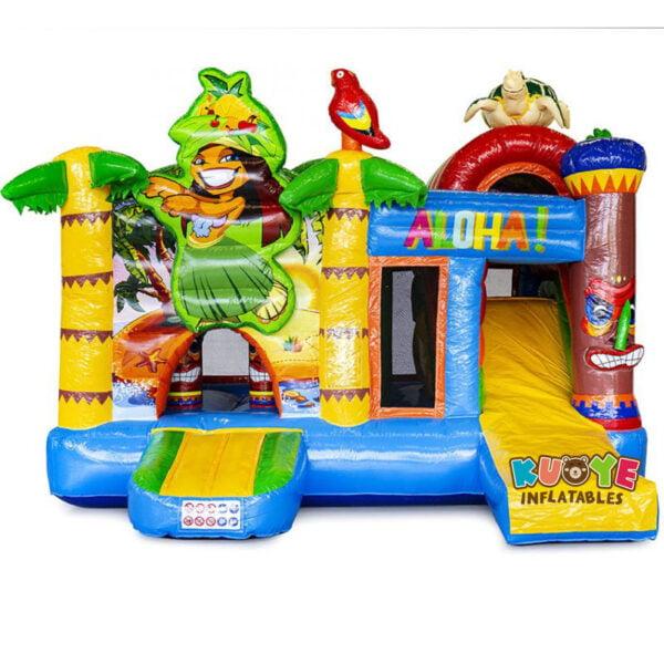 CB007 Multiplay Hawaii Combo Bouncy Castle