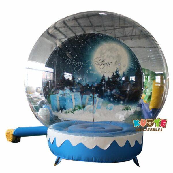 Xmas005 3m Christmas Decoration Inflatable Snow Globe Transparent Bubble Tent