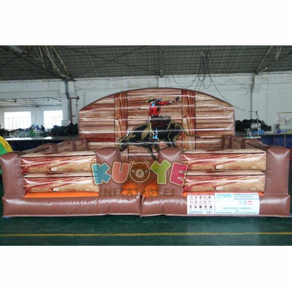 SP1848 Inflatable Mechanical Shark Rodeo Simulator Ride 4