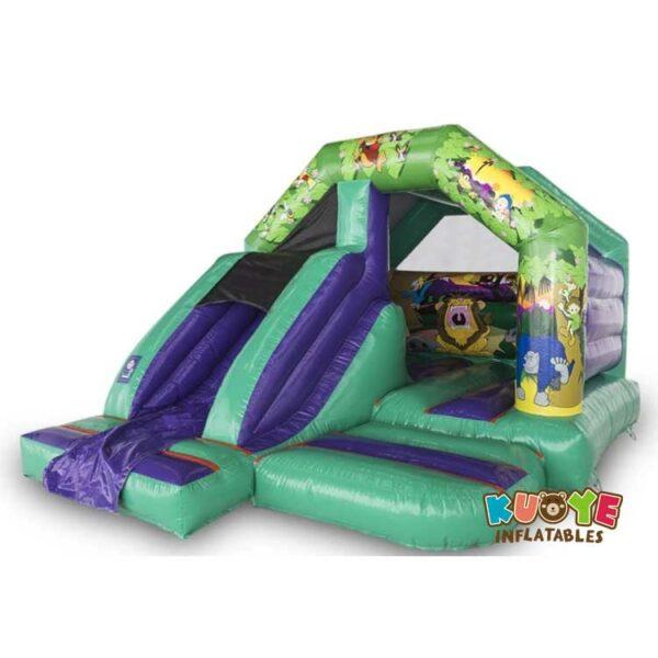 CB055 12′ x 15′ Jungle Slide Combo Castle