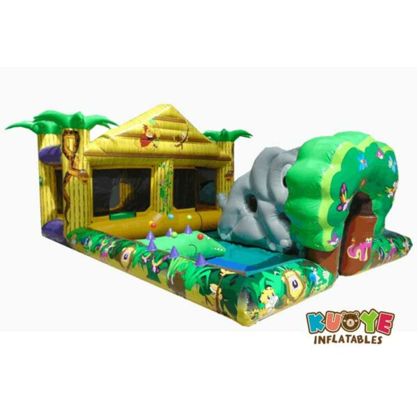 CB056 14′ x 20′ Inflatable Jungle Play Zone