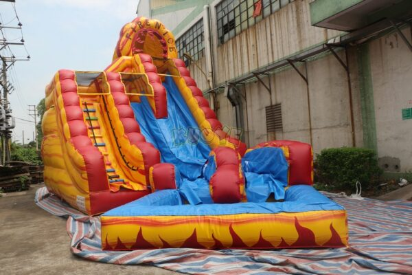 KYSS42 22ft Fire-N-Ice Water Slide 2