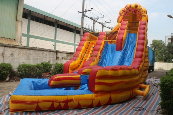 KYSS42 22ft Fire-N-Ice Water Slide 3
