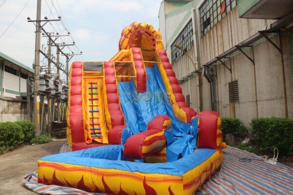 KYSS42 22ft Fire-N-Ice Water Slide 4