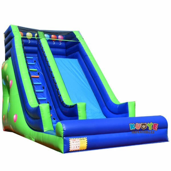 KYSC02 Colorful Balloons Inflatable Slide