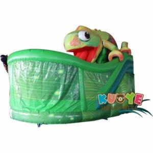 SL007 Inflatable Chameleon Slide