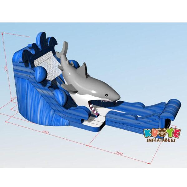 WS006 Giant Shark Water Slide 4
