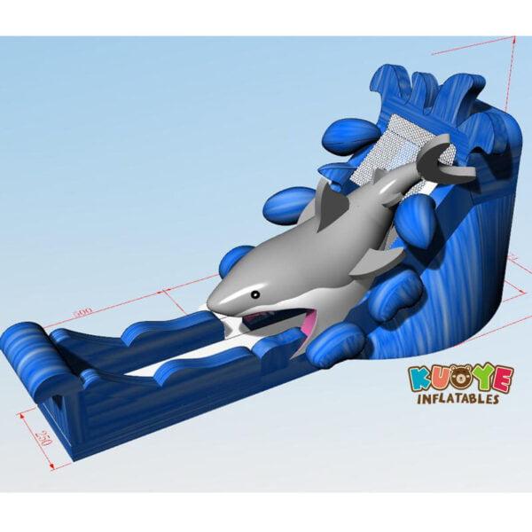 WS006 Giant Shark Water Slide 3