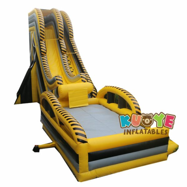 WS007 Inflatable Drop Kick Water Slide