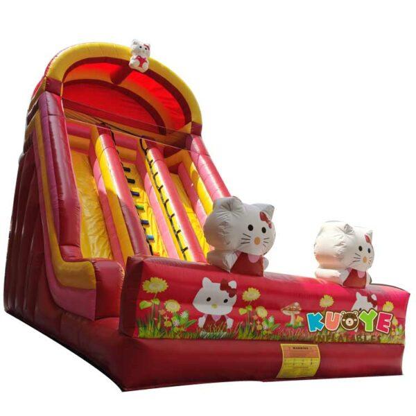SL039 Inflatable Hello Kitty Slide