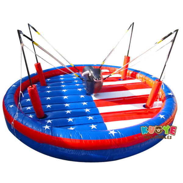 SP005 Inflatable Bull Riding Bungee Bull