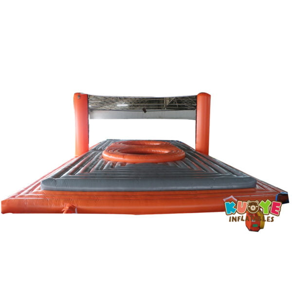 SP1879 Durable Inflatable Bossaball Court For Inflatable Sports Games