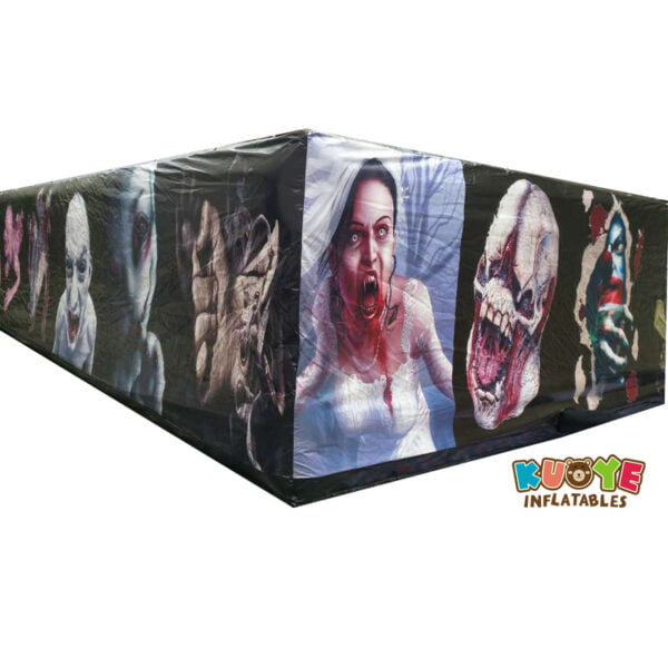 SP020 PVC Halloween Inflatable Haunted Maze Walking Dead Theme 5