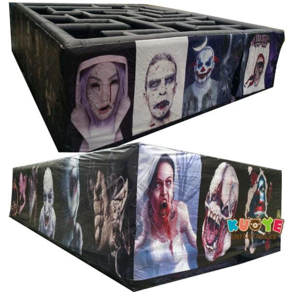 SP020 PVC Halloween Inflatable Haunted Maze Walking Dead Theme 4