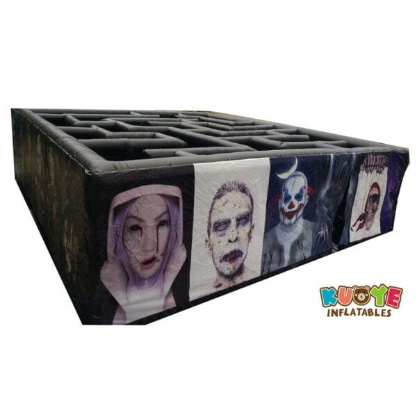 SP020 PVC Halloween Inflatable Haunted Maze Walking Dead Theme