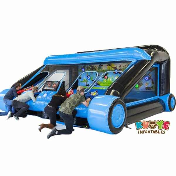 SP023 New Shooting Gallery Inflatable with IPS, Two Guns and Two Masks