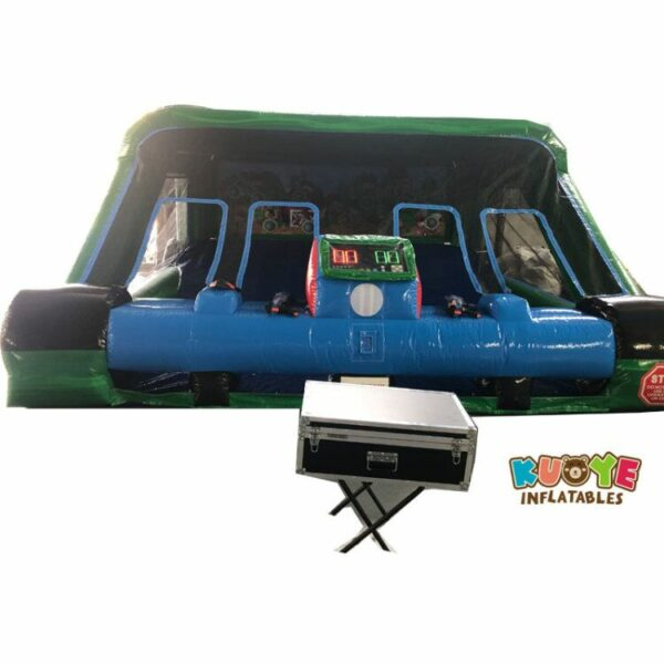 SP023 New Shooting Gallery Inflatable with IPS, Two Guns and Two Masks 2