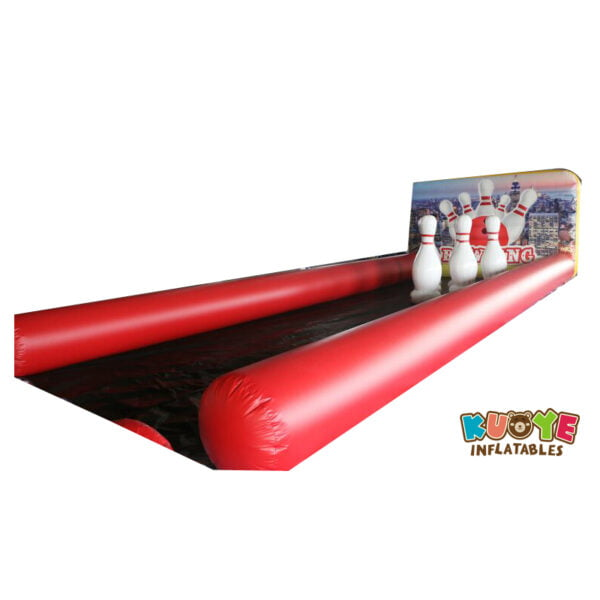 SP024 Hot Game Air Tight Inflatable Bowling Alley Game for Kids and Adults