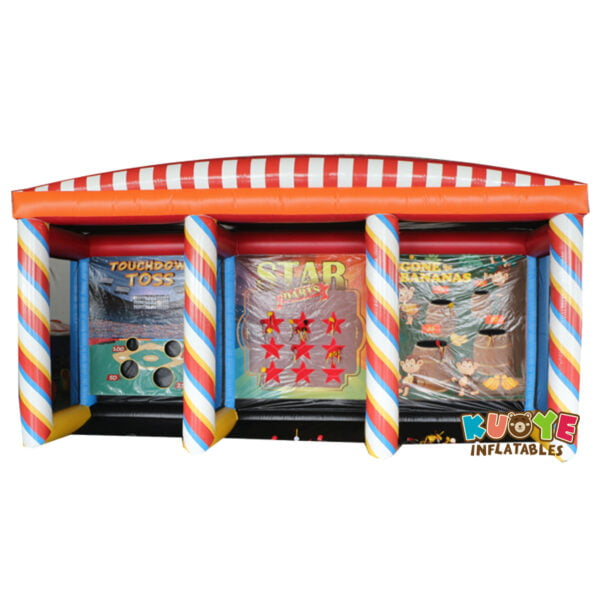 SP1804 Inflatable 3-in-1 Carnival Game