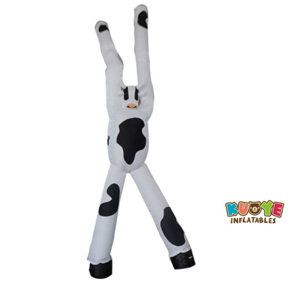 AD007 6m Inflatable Advertising Cow Air Dancer with Two Legs