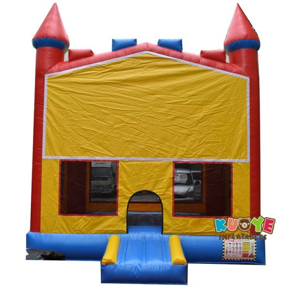 BH073 Rainbow Bricks Castle Bounce House