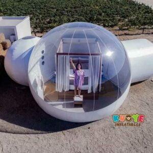 TT008 Outdoor Inflatable PVC Transparent Bubble Tent