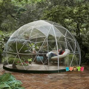TT012 5m Outdoor Frame Clear Bubble Tent