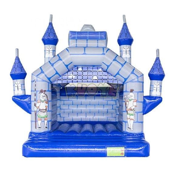 Camelot Bouncy Castle Blue Grey