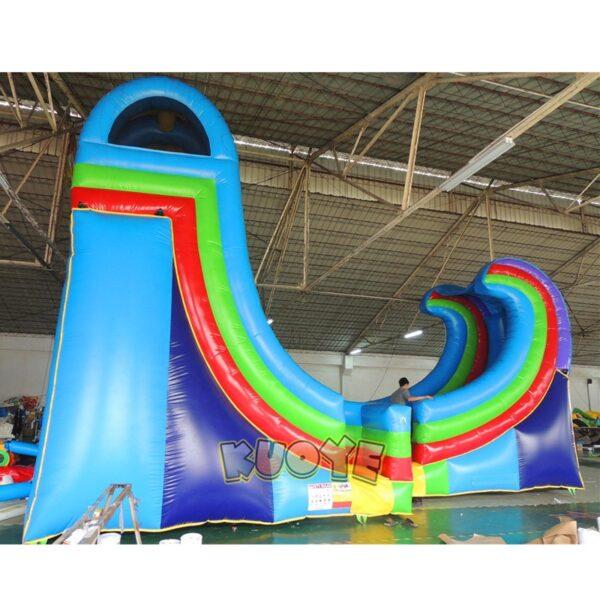 WS001 21ft Rampage Water Slide 4