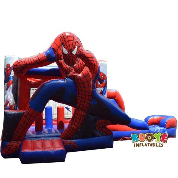 CB012 Spiderman Bouncy Castle Combo