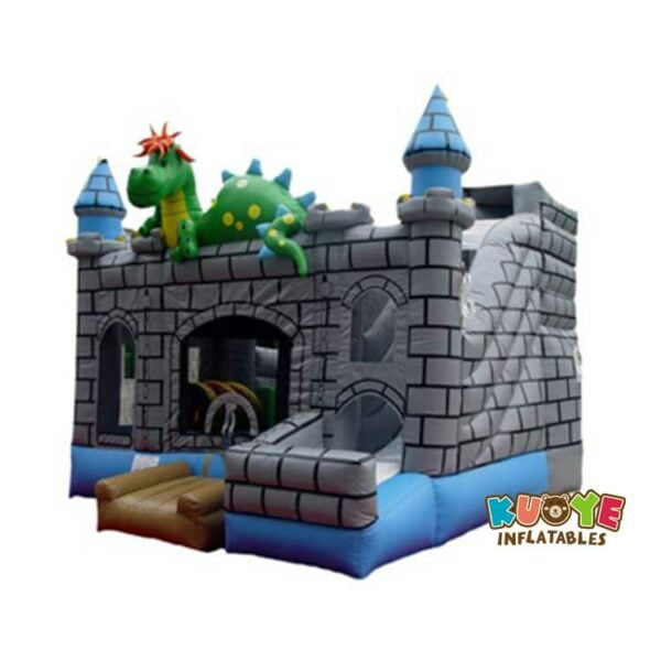 CB024 Dragon Castle Playhouse Inflatable Combo