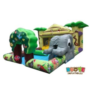 CB070 Jungle Soft Play Park Inflatable