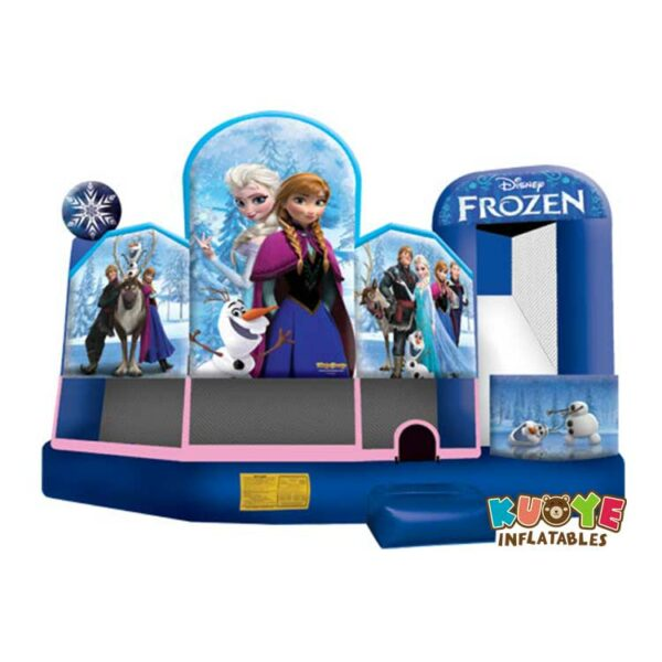CB026 Frozen Inflatable Playhouse Combo