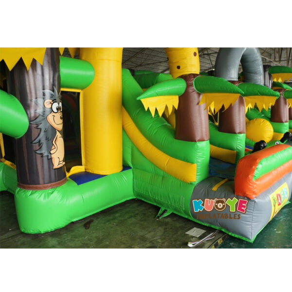 AP001 Adrenaline Jungle Zone Inflatable Playground 7