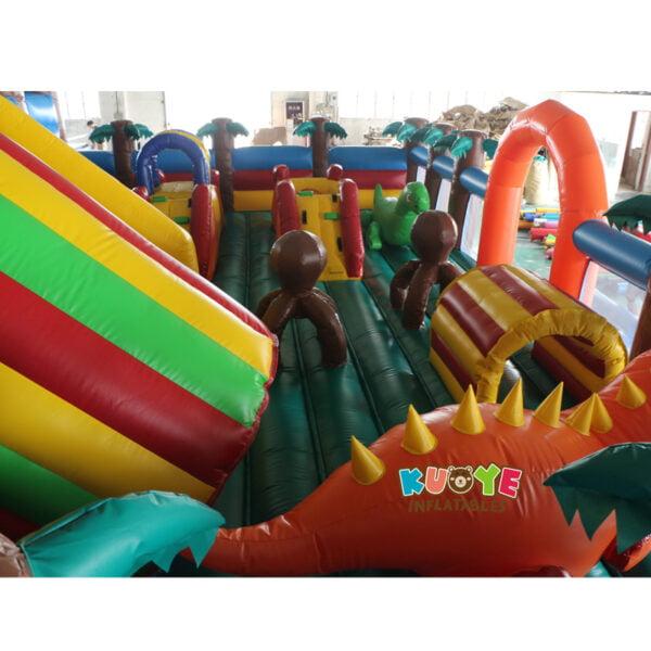 AP002 Jurassic Dinosaur Inflatable Trampoline Playground 5